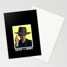 the queen's gambit retro Stationery Cards