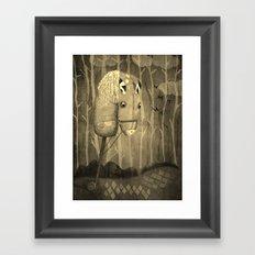 The Hobby Horse Framed Art Print