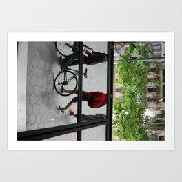 Mirror Town Art Print