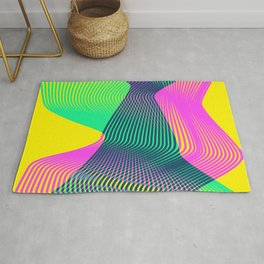 Waves on a new world Rug