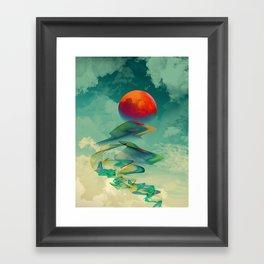 Reach the Sun! Framed Art Print