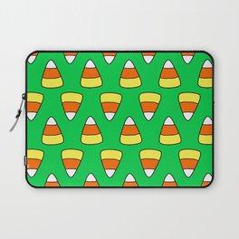 Green Candy Corn Laptop Sleeve
