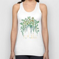 forest Tank Tops featuring Re-paint the Forest by Picomodi