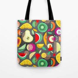 Dancing fruits Tote Bag