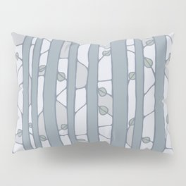 Into The Woods grey Pillow Sham
