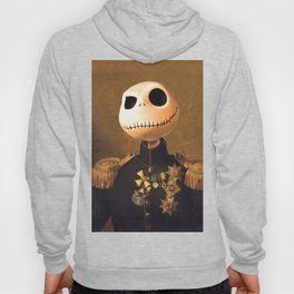Jack Skellington General Portrait Painting | Fan Art Hoody