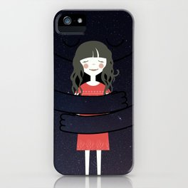 The Universe loves You iPhone Case