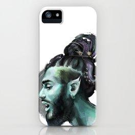 AfroAquaMan iPhone Case