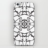 the wire iPhone & iPod Skins featuring wire by kartalpaf