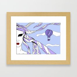 Elements - Air Framed Art Print