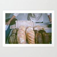 bread Art Prints featuring Bread by Ali Inay