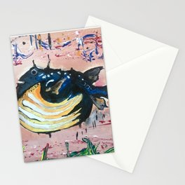 Holy Cowfish Stationery Cards