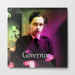 GOVERNOR VINEGAR-TITS Metal Print