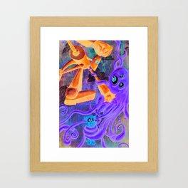 Battle Framed Art Print