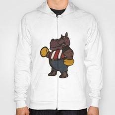 Hippo Pugilist Hoody