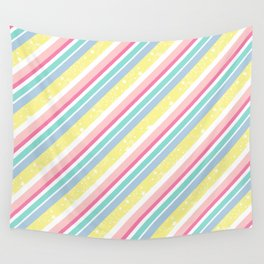 Party stripes Wall Tapestry