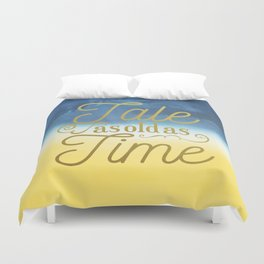 Tale As Old As Time - Beauty and the Beast (color) Duvet Cover