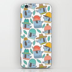 Pattern Project #38 / Dogs With Hats iPhone & iPod Skin