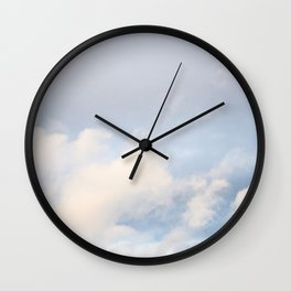 Clouds in November 5 Wall Clock