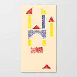 Blockitecture Two Canvas Print