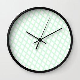 Lattice | Mint Wall Clock