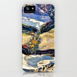 Flying Demon - Digital Remastered Edition iPhone Case
