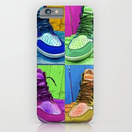 Sneaker Popart iPhone Case