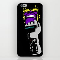 thanos iPhone & iPod Skins featuring Power Gauntlet by Sauce Designs
