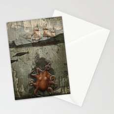 paper III :: octopus/ship Stationery Cards