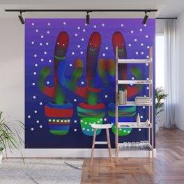 Cactus Rainbow 03 Wall Mural