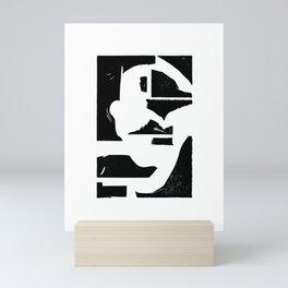 Dancing Spaces 2 Mini Art Print