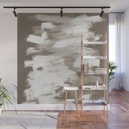 Modern brush strokes in nude PS03_4 Wall Mural