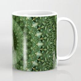 Mandala in olive green tones Coffee Mug