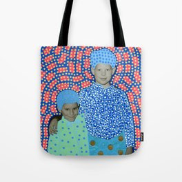 Blue Minty Friendship Tote Bag