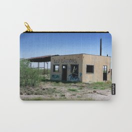 Somewhere on the Old Pecos Highway #3 Carry-All Pouch
