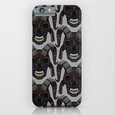 demon skull heather iPhone 6s Slim Case