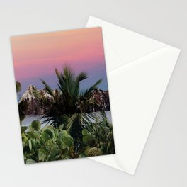 Tropical d'hiver Stationery Cards