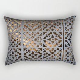 Crypt Door Detail Rectangular Pillow
