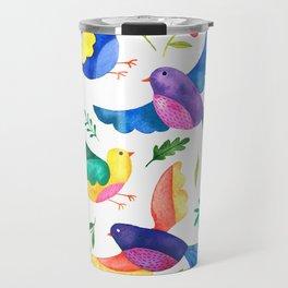 Mexican Birds Travel Mug