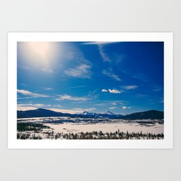 Denver, CO. Art Print