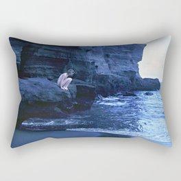 Beach Moon Rectangular Pillow