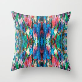 The Third Peace Kaleidoscope Throw Pillow