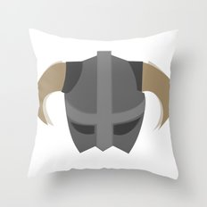 The Saviour of Skyrim Throw Pillow