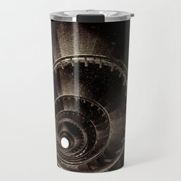 Ke Ga. Spiral staircase inside Lighthouse Travel Mug