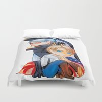 revolution Duvet Covers featuring Revolution by Mieu