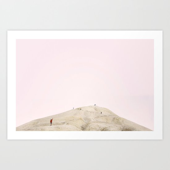 Little People, Big Places 3 (series of 4) Art Print