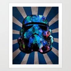 Star Wars StormTrooper (watercolor) Art Print