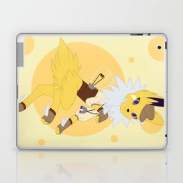 Electric Stampunk Fox Laptop & iPad Skin