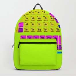 Periodic table of element Backpack