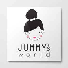 Jummy's World Metal Print